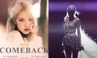 """Rosé (BLACKPINK) diện trang phục của NTK Công Trí trong MV mới """"On The Ground""""?"""