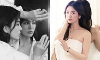 """Song Hye Kyo lâu rồi mới chụp ảnh khoe vai trần, đẹp ngút ngàn khiến netizen """"dậy sóng"""""""