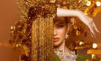 Cận cảnh bộ quốc phục nặng 30kg của Á hậu Ngọc Thảo tại Miss Grand International