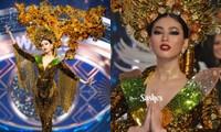 Màn trình diễn quốc phục với thần thái đỉnh cao của Ngọc Thảo tại Miss Grand International