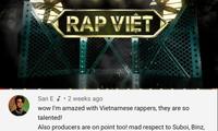 """Các HLV """"Rap Việt"""" nhận được lời khen từ nhà sản xuất chương trình """"Show Me The Money"""""""