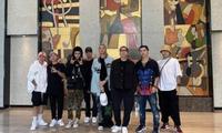 """Rap Việt: SpaceSpeaker đăng ảnh chụp cùng team Binz, phải chăng lại sắp có """"siêu phẩm""""?"""