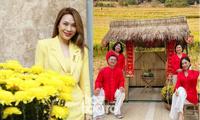 """Sao Việt đầu năm: Mỹ Tâm khoe sắc trong váy vàng rực rỡ, Sơn Tùng M-TP chuẩn """"soái ca"""" bên em trai"""