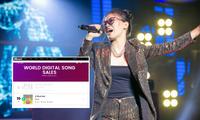 """Pháo và Kaiz lần đầu ghi danh tại Top 10 Billboard World Digital Song Sales với """"2 Phút Hơn"""""""