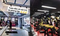 """Giới trẻ Sài Gòn nô nức khoe ảnh """"check-in"""" trở lại phòng gym đầy khí thế"""