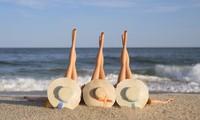 Bí kíp giúp các bạn gái có đôi chân thon khi chụp ảnh mà không cần xài app