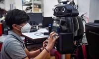Thái Lan dùng robot ninja bảo vệ đội ngũ y bác sĩ trong cuộc chiến với Covid-19