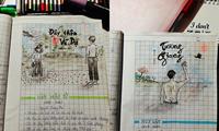 """""""Xin quỳ"""" với quyển tập học Văn sáng tạo của teen """"Gen Z"""": Xem là hết buồn ngủ!"""