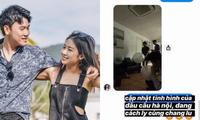 Động thái mới của Trang Lou - Tùng Sơn sau khi bị nghi ngờ sử dụng bóng cười vào mùa dịch