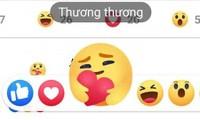 """Biểu tượng cảm xúc mới của Facebook đã """"cập bến"""" Việt Nam với tên gọi: """"Thương thương"""""""