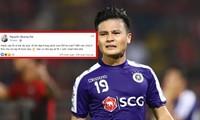 NÓNG: Quang Hải lên tiếng sau khi bị kẻ xấu hack FB cá nhân, tung tin nhắn riêng tư