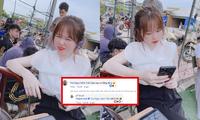 Bạn gái Quang Hải không ngần ngại thừa nhận dùng phần mềm chỉnh ảnh để da trắng sáng
