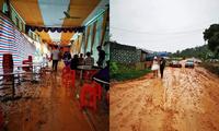 """Đám cưới """"nhọ"""" nhất năm: Tổ chức đúng mùa dịch lại còn dính mưa bão"""