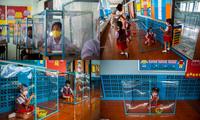 Đến trường an toàn: Học sinh Thái Lan học và chơi trong buồng giãn cách xã hội