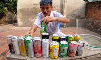 """Con trai Bà Tân Vlog lại bị dân mạng chỉ trích khi làm """"thí nghiệm"""" trộn 50 loại nước ngọt"""
