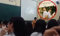 Ngày đi học đầu tiên, teen Trần Phú (Hà Nội) được cô cho xem MV thanh xuân vườn trường