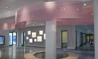 """Tòa nhà màu hồng """"công chúa"""" siêu dễ thương của ĐH Ngoại Thương, sinh viên tha hồ check-in"""