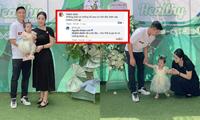 Vợ sắp cưới của Bùi Tiến Dũng khiến cư dân mạng tranh cãi khi đăng ảnh gia đình