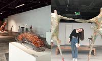 Hà Nội: Teen mê nghệ thuật đã check-in Triển lãm Điêu khắc Hà Nội - Sài Gòn chưa?