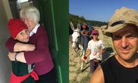 Ý: Cậu bé 11 tuổi đi bộ 1.700 dặm trong 93 ngày để được gặp bà ngoại của mình