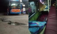 Xe chở hàng từ Sài Gòn ra Quảng Trị cứu trợ người dân vùng lũ bị ném đá vỡ kính ở Phú Yên