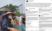 Xuất hiện tài khoản Facebook giả mạo ca sĩ Thủy Tiên để lừa đảo quyên góp tiền cứu trợ
