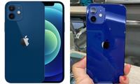 """Cận cảnh iPhone 12 """"bằng xương bằng thịt"""": Màu xanh dương khiến các iFan thất vọng"""