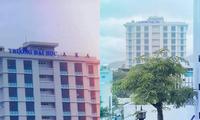 Đà Nẵng: Bảng tên trường đại học bị bão cuốn bay, sinh viên nhờ cộng đồng mạng tìm hộ
