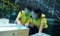 Học sinh lớp 8 tìm giải pháp cải thiện ô nhiễm nguồn nước bằng ứng dụng hạt Nano TIO2