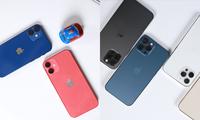 """Cận cảnh iPhone 12 Mini, 12 Pro Max trước ngày mở bán: Bạn là team """"tay nhỏ"""" hay """"tay to""""?"""