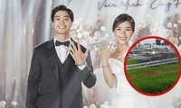 Dân mạng bất ngờ khi biết địa điểm đặc biệt tổ chức tiệc cưới của Công Phượng tại quê nhà