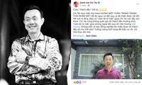 Xem lại bài đăng từ 2 ngày trước của nghệ sĩ Chí Tài, khán giả càng thêm đau xót