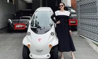 """Bảo Thy khoe xế cưng mới sắm nhưng biển số hai chiếc """"siêu xe"""" mới đáng ghen tỵ"""