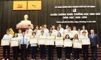 TP.HCM: Mức thưởng dành cho học sinh Giỏi dự kiến sẽ tăng, có thể lên đến 200 triệu đồng!