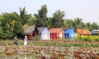 """Địa điểm check-in Tết Dương lịch 2021: """"Vườn hoa Đà Lạt"""" giữa lòng Sài Gòn hút giới trẻ"""