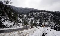Miền Bắc đón đợt không khí lạnh mới, nhiều tỉnh vùng núi dự báo có mưa tuyết