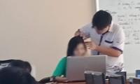 """Nam sinh tình nguyện """"nhổ tóc sâu"""" cho cô giáo, hy vọng """"cứu vãn"""" danh hiệu Học sinh Tiên tiến"""