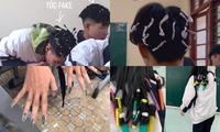 """1001 """"chiêu trò"""" làm đẹp của hội học sinh dịp Tết: Làm nail, uốn tóc với giá... 0 đồng!"""