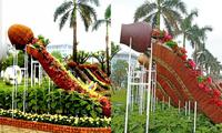 """Biểu tượng hoa ngày Tết tại Quảng Nam bị dân mạng chê là """"nhạy cảm"""" đã được chỉnh sửa"""