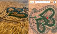 """Dân mạng Việt Nam """"làm loạn"""" Google Maps, tạo hàng loạt địa điểm ảo ở hồ Love Lake Dubai"""