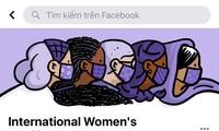 Facebook, Google mừng ngày Quốc tế Phụ nữ 8/3: Chỉ cần nhấn vào logo là thấy điều đặc biệt