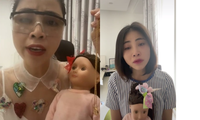 """Thơ Nguyễn khóc hết nước mắt trong clip mới, nhắn fan: """"Xin phép cho chị được nghỉ ngơi"""""""
