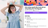 """Netizen xôn xao khi xuất hiện group Facebook """"đòi lại công bằng cho Thơ Nguyễn"""""""