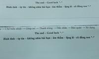 Đọc lời nhắn nhủ của giáo viên trên tờ đề kiểm tra, teen giật mình quay lại nhìn phía sau
