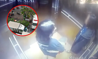 Camera ghi lại hình ảnh cuối cùng của 2 cô gái trẻ trước khi tử vong ở chung cư tại TP.HCM