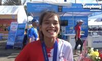 Cảm xúc nhà vô địch Tiền Phong Marathon 2019