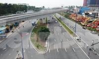 Nhìn từ trên cao nút giao thông cửa ngõ phía Đông Sài Gòn vừa thông xe