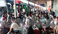 Bến xe lớn nhất Sài Gòn đông nghẹt ngày giáp Tết