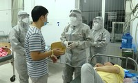 Bệnh nhân bị nhiễm vi rút corona tại bệnh viện Chợ Rẫy.