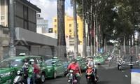 Xe taxi, xe hợp đồng dưới 9 chỗ tiếp tục dừng hoạt động từ ngày 23/4.